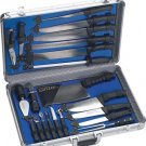 CTCASE21 Slitzer 21pc Professional ChefsCutlery Set in Case