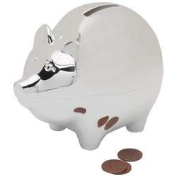 Sterlingcraft® Silverplated Piggy Bank