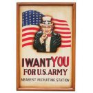 Club Fun™ U.S. Army Hand Painted Sign Board