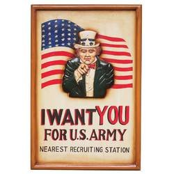 Club Fun� U.S. Army Hand Painted Sign Board