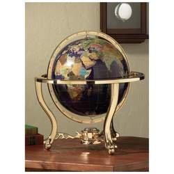 "Kassel� 13"" (330mm) Diameter Faux Stone Decorative World Globe"