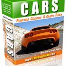 Cars printable ebook