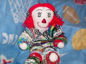 YoYo Raggedy Anne Doll Pattern