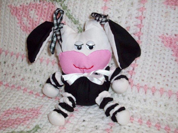 Yoyo Cow Doll pattern