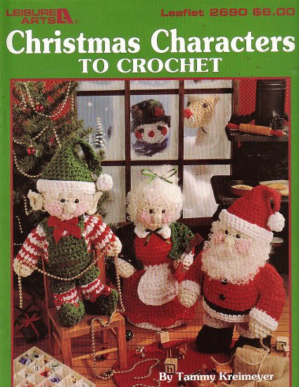 Christmas Characters to Crochet