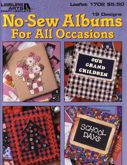 No Sew albums for all occasions