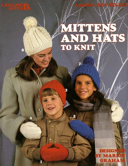 Mitten and hats to knit