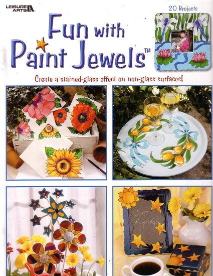 Fun wth paint Jewels