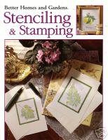 Better homes stenciling and stamping
