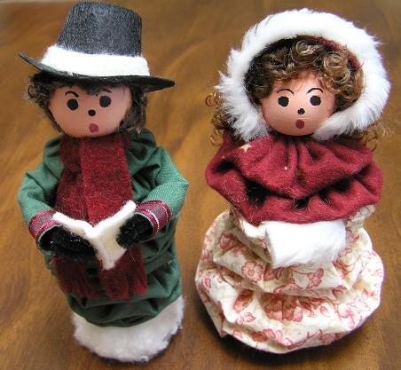 Holiday carolers set 1 ebook