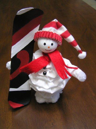 Sam the Snowboarding Snowman  pattern Ebook