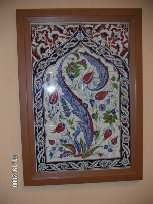 Ceramic Tile( Set of 6 ) 01