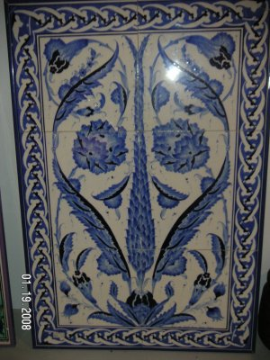 Ceramic Tile( Set of 6 )  03