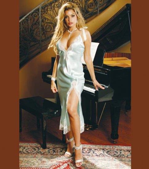 CHARMEUSE GOWN  SIZES: S-M-L-XL  #DL1036  Women's Lingerie
