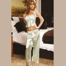 CHARMEUSE CAMISOLE with MATCHING PANTS SIZES: S-M-L-XL #DL1118  Women's Lingerie