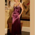 CHARMEUSE GOWN  SIZES: S-M-L  #DL1040 Women's Lingerie