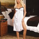 Polka Dot DRESS-GOWN SIZES: S-M-L-XL #DL1336  Women's Lingerie