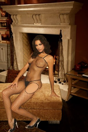 Industrial Net BODYSTOCKING with Open Crotch #DLG2118