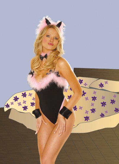 Playful Pussy Cat COSTUME for Women #DLB5034