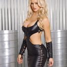 Leather Dress #DLL3182 Plus Size