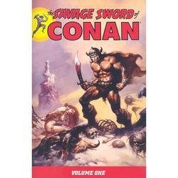 1 The Savage Sword of Conan Volume I 978-1593078386 Roy Thomas Dark Horse Comics