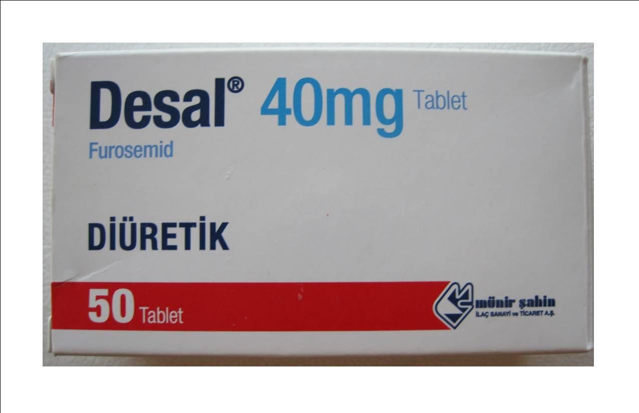 Desal (Furosemide) 100 Tablets