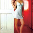 Chemise with adjustable bow and thong