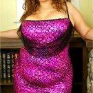 PLUS SIZE Sexy Spagetti Strap Mini Dress