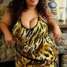 SEXY Animal Print Club Mini Dress PLUS SIZE