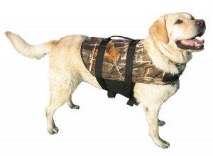 Real TreeMax 4 Camo Doggy Life Jacket