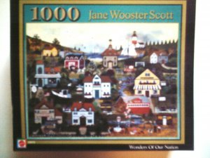 """Jane Wooster Scott puzzle """"Wonders of Our Nation"""""""