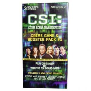 CSI Crime Game and Booster Pack #1