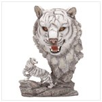 Fierce White Tiger Display(31404)