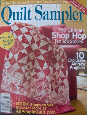 Quilt Sampler Fall Winter 2008 Quilting Magazine From