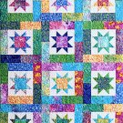Atkinson Designs Lucky Stars Quilt Top Pattern ATK-129