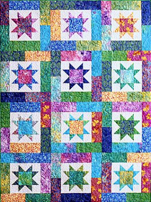 QUILT PATTERN SCRAPPY STAR | My Quilt Pattern