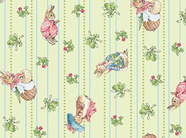FQ Peter Rabbit Garden Tales Character Toss on Green ...