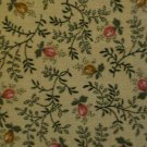 F8 Thimbleberries Cottagewood Calico Floral Prints on Tan RJR Cotton Quilt Fabric Fat Eighth F8th