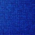 F8 Santee Blender Medium Blue Basket Weave Crosshatch Cotton Quilt Fabric Fat Eighth F8th