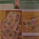 Quilt in a Day Eleanor Burns Pinwheel Quilt Diaper Bag Changing Pad Pattern 4663 Simplicity