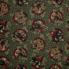 FQ Thimbleberries Quilt Club Holly Berry & Pine Cone Tassel Circles RJR Quilt Fabric Fat Quarter
