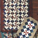 Meet Me At The Corner Quilt Top Pillow Table Runner Pattern SPL-114 by Atkinson Designs