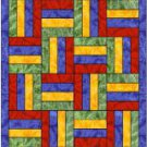 Quilter&#39;s Split Rail Quilt Block Bookmark Book Mark Great Gift!