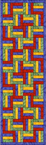 Quilter's Split Rail Quilt Block Bookmark Book Mark Great Gift!