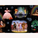 BTP Magic of Oz Large Scale Wizard Scenic Panel 21856 J Fabric by Quilting Treasures By the Panel
