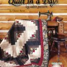 NEW Quilt in a Day Log Cabin Quilting Pattern and Instruction Book by Eleanor Burns QIAD