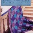 Beginner Level Quilt in a Day Courthouse Steps Easy Quilting Pattern Book by Judy Knoechel