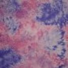 BTY Pink Purple Tie Dyed Cotton Fabric from Timeless Treasures By the Yard