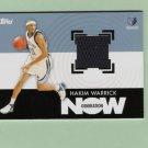 Hakim Warrick Generation Now Jersey Card