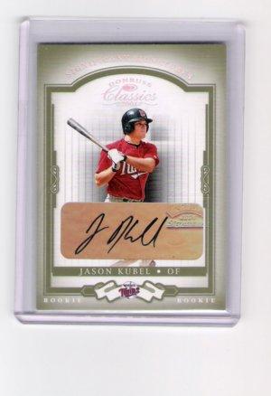 Jason Kubel Minnesota Twins Autograph 21/100